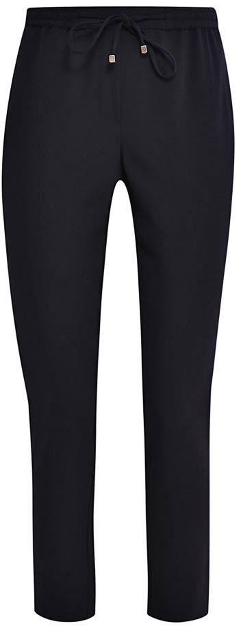 Брюки женские Sela, цвет: черный. P-115/805-7132. Размер 46