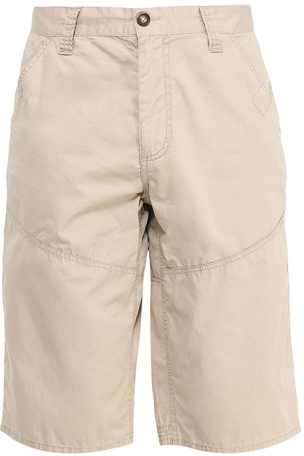 Шорты мужские Sela, цвет: бежевый. SH-215/539-7213. Размер 44 цена