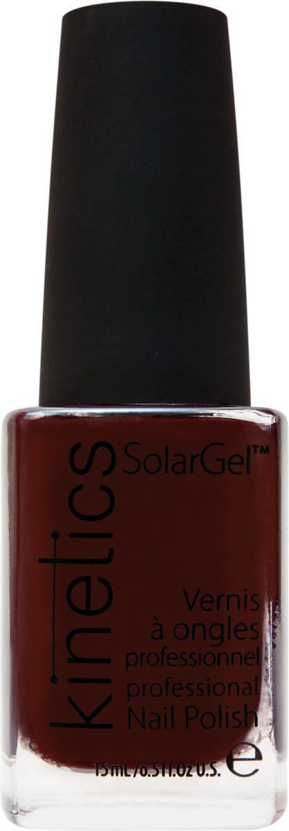 Kinetics Профессиональный лак SolarGel Polish, 15 мл, тон 256KNP256Новое поколение профессиональных гелевых лаков для ногтей, которые наносятся как обычный лак, а выглядят как гель. Ультра модные и классические цвета, поражают своей стойкостью и разнообразием оттенков. Стойкость до 10 дней, не требует специальной сушки в UV/LED лампе. Рекомендуется использовать с верхним покрытием SolarGel Top Coat