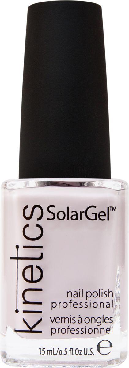 Kinetics Профессиональный лак SolarGel Polish, 15 мл, тон 341KNP341Новое поколение профессиональных гелевых лаков для ногтей, которые наносятся как обычный лак, а выглядят как гель. Ультра модные и классические цвета, поражают своей стойкостью и разнообразием оттенков. Стойкость до 10 дней, не требует специальной сушки в UV/LED лампе. Рекомендуется использовать с верхним покрытием SolarGel Top Coat