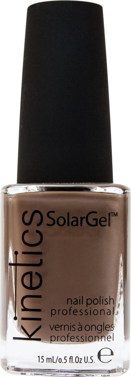 Kinetics Профессиональный лак SolarGel Polish, 15 мл, тон 344KNP344Новое поколение профессиональных гелевых лаков для ногтей, которые наносятся как обычный лак, а выглядят как гель. Ультра модные и классические цвета, поражают своей стойкостью и разнообразием оттенков. Стойкость до 10 дней, не требует специальной сушки в UV/LED лампе. Рекомендуется использовать с верхним покрытием SolarGel Top Coat