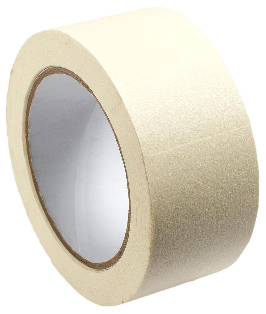 Малярная лента MasterProf, цвет: белый, 48 мм х 50 мHS.070022Применяется для малярных работ внутри помещений, при облицовке плиткой, при установке дверей, при покраске автомобилей, при установке различных уголков, включая перфорированные уголки для гипсокартона, и декоративные наружные уголки для плитки.