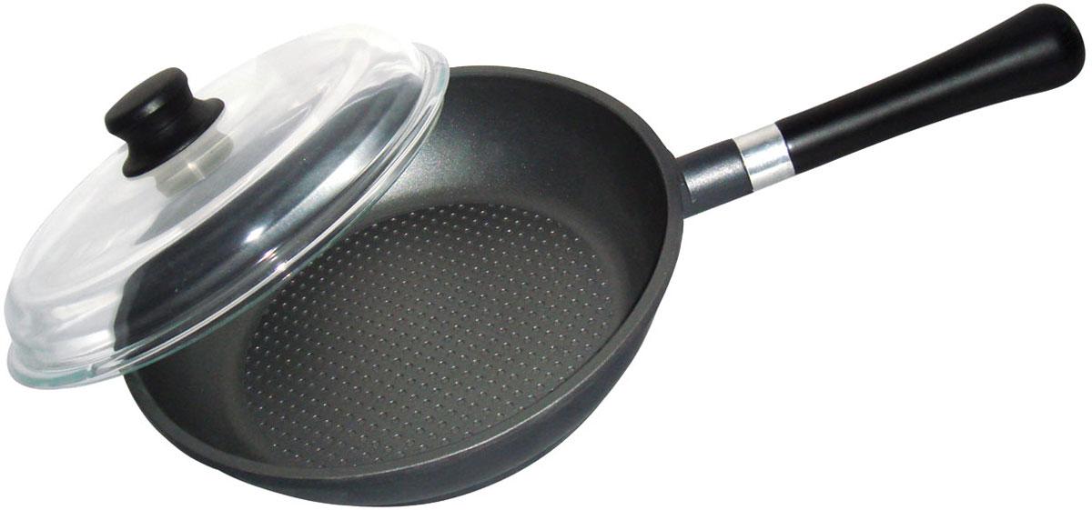 Сковорода Bohmann с крышкой, с керамическим покрытием, со съемной ручкой. Диаметр 24 см6011-24BH/NEWСковорода Bohmann изготовлена из алюминия с керамическим покрытием покрытием. Покрытие абсолютно безопасно для здоровья, оно имеет специальный слой, к которому не прилипает пища. При жарке требуется минимуму масла или жира. А меньше жира - меньше калорий, что благотворно влияет на ваше здоровье. Внешнее цветное декоративное покрытие выдерживает высокую температуру. Изделие оснащено крышкой из жаропрочного стекла. Съемная деревянная ручка не нагревается в процессе приготовления пищи.Посуда Bohmann с износоустойчивым антипригарным покрытием позволяет готовить в энергосберегающем режиме, значительно сокращая время, проведенное у плиты. Покрытие устойчиво к механическим повреждениям. Сковорода пригодна для использования на всех типах плит: газовые, электрические, галогеновые, стеклокерамические. Подходит для чистки в посудомоечной машине. Высота стенки сковороды: 6 см. Длина ручки: 21 см.Диаметр индукционного диска: 19 см.
