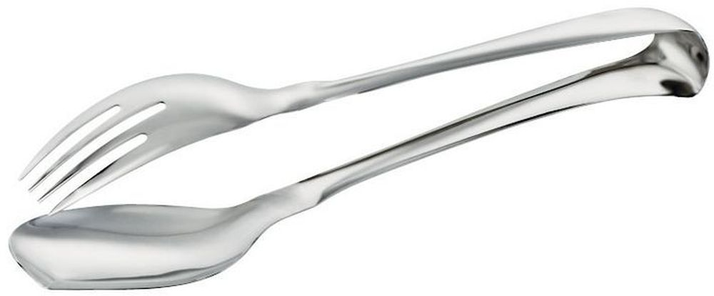 Щипцы кулинарные Sambonet, длина 17 см52550-68Кулинарные щипцы Sambonet изготовлены из стали с серебренным покрытием. Изделие имеет идеальную обтекаемую форму, с минимальным количеством декора и дополнений, что делает его практичным и удобным в использовании.Удобная ручка не позволит выскользнуть щипцам из вашей руки, сделает приятным процесс приготовления любого блюда. Такие щипцы займут достойное место среди аксессуаров на вашей кухне.