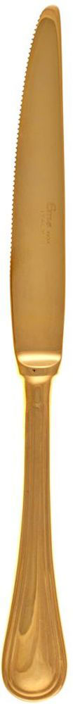 Нож столовый Sambonet Impero. РП-IGX10РП-IGX10Итальянская компания «Sambonet» с 1856 года занимается производством посуды, столовых приборов и сервировки стола для европейских королевских представительств.Бренд «Sambonet» успешно продвигает свою продукцию на международном рынке, произведенным в традиционном классическом стиле, в духе современности, а также с «нотками» востока.Продукция бренда производится только из н стали высочайшего качества с последующим покрытием серебром по оригинальной запатентованной технологии компании, что делает продукцию невероятно гладкой и блестящей. Изделия марки «Sambonet» имеют идеальную обтекаемую форму, с минимальным количеством декора и дополнений, что делает ее практичной и удобной в использовании. Вилки, ложки, ножи, ведерки для льда, посуда для холодных и горячих напитков, вазы, чайники, соусники, предметы сервировки стола известного бренда «Sambonet , завоевавшие свою популярность в мире посуды, представлены в каталоге нашего интернет-магазина «ViPosuda». Зайдите к нам на страничку, полюбуйтесь блеском коллекции и приобретите для своего обихода великолепную продукцию мирового бренда.