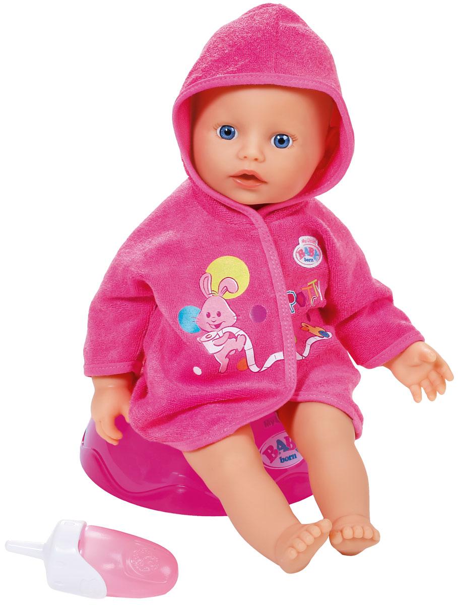 Baby Born Игровой набор с куклой Potty Training baby born кукла быстросохнущая baby born