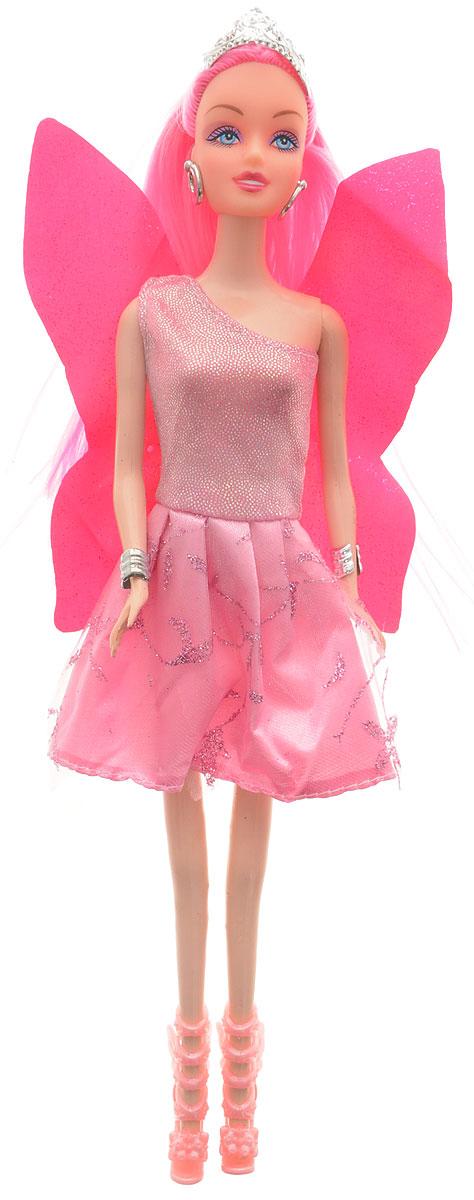 Veld-Co Кукла Фея цвет платья розовый veld co мини кукла mona с совой
