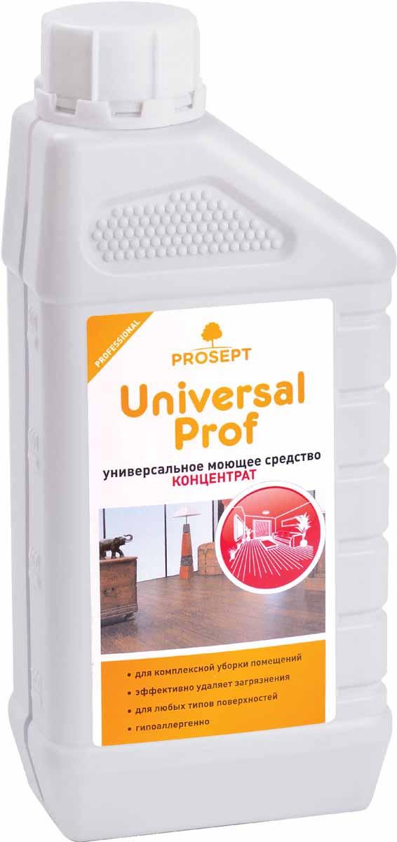 Средство моющее Prosept Universal Prof, универсальное, концентрат, 1 л104-1Моющее низкопенное средство для комплексной уборки помещений - мытья полов, стен, лестниц, дверей, корпусной мебели, бытовой и офисной техники и т.д. Эффективно удаляет основные виды загрязнений со всех типов твердых поверхностей, оставляя их безупречно чистыми. Справляется с большинством типов загрязнений на разных поверхностях.Товар сертифицирован. Как выбрать качественную бытовую химию, безопасную для природы и людей. Статья OZON Гид