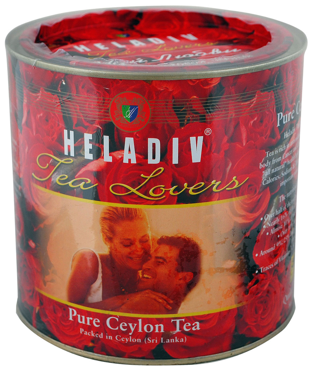 Heladiv Tea Lovers чай черный листовой, 450 г чай heladiv чай черный листовой heladiv pekoe 400г