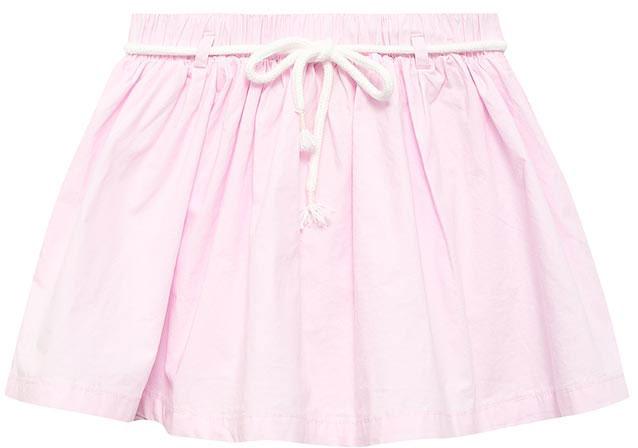 Юбка для девочки Sela, цвет: светло-розовый. SK-518/272-7233. Размер 92, 2 года