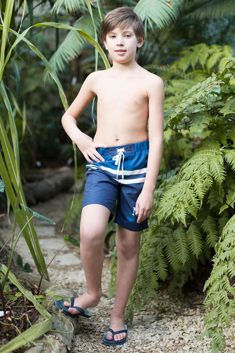 Шорты купальные для мальчика Luminoso, цвет: синий. 717063. Размер 134