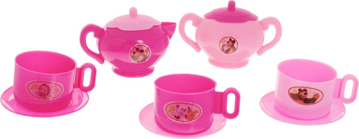 Играем вместе Набор игрушечной посуды Маша и Медведь 10 предметов игрушечная посуда играем вместе набор посуды маша и медведь