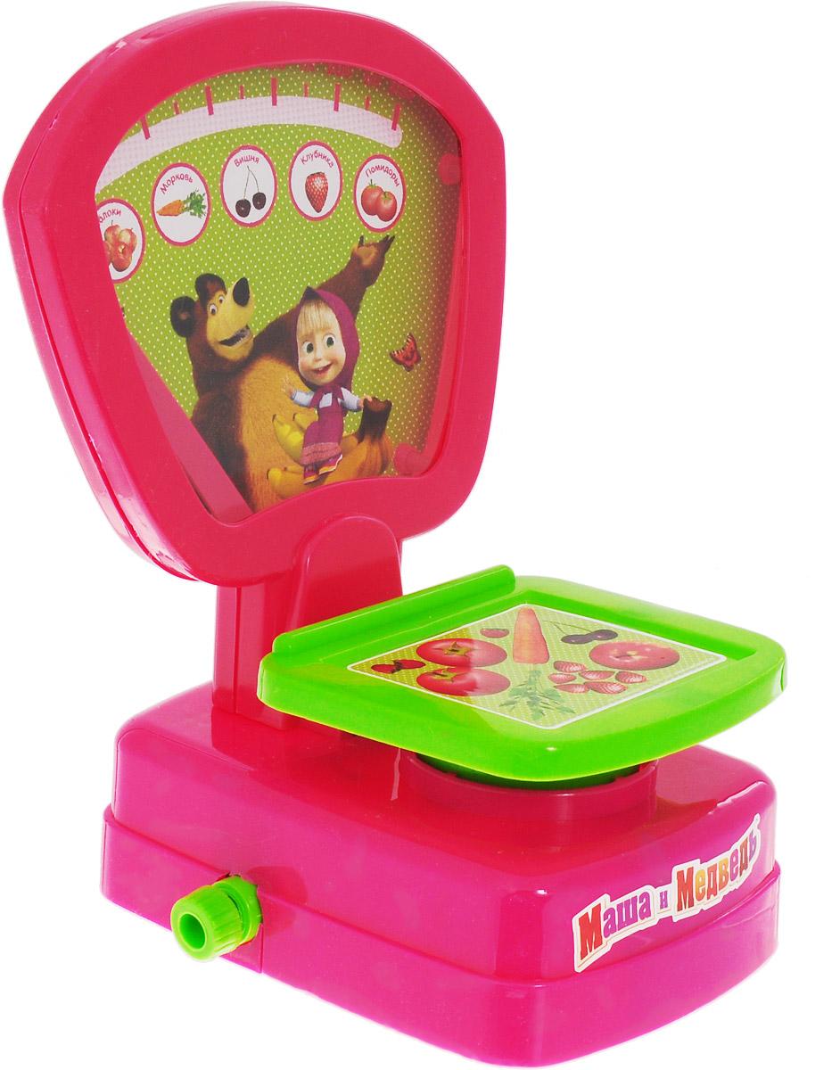 Играем вместе Игрушечные весы Маша и Медведь машины игрушечные детские