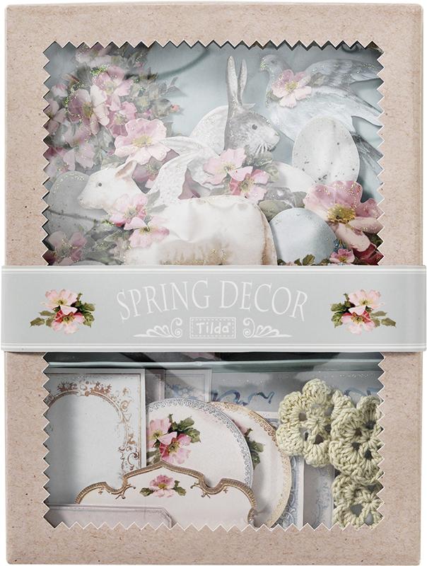 Набор 3D стикеров Tilda Весенний декор, цвет: бежевый, розовый, голубой, 19 шт2104806963D стикеры Tilda Весенний декор отличаются утолщенным клейким элементом на оборотной стороне. Благодаря этому, вы сможете создавать объемные композиции. Большой выбор мотивов поможет вам выбрать декор для открытки или альбома к самым разным событиям. 3D-стикеры притягивают взгляд, нарядно выглядят и могут очень разнообразно применяться. Это идеальные заготовки для скрапбукинга, открыток ручной работы, декоративных панно, украшения подарков.