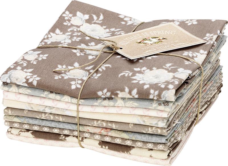 Набор ткани Tilda, 50 х 55 см, 9 шт. 210480702210480702Все ткани из одной коллекции прекрасно подходят друг другу и, конечно, идеальны для шитья кукол Тильда и всевозможных зверушек в ее стиле. 100% хлопок дает усадку примерно на 6-7%.