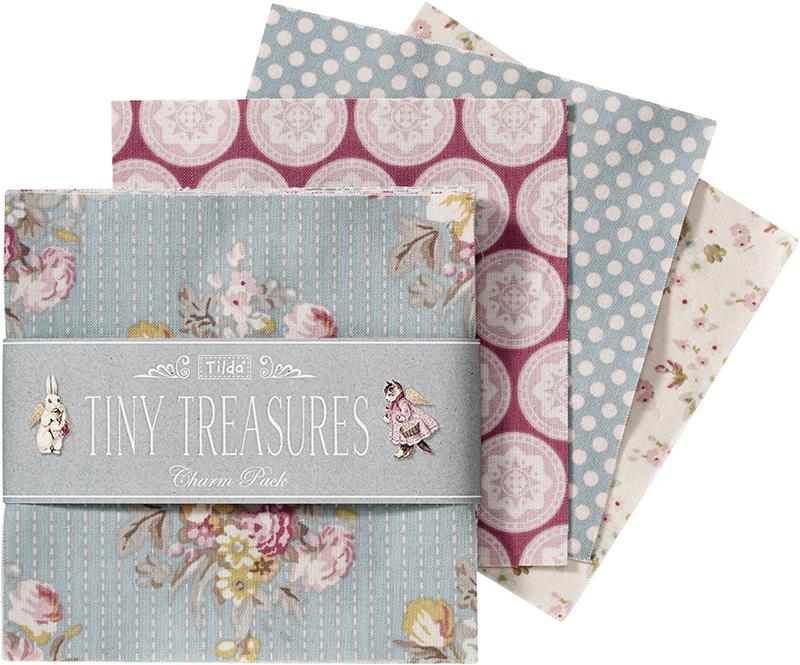 Набор ткани  Tilda , 12,5 х 12,5 см, 42 шт. 210480789 -  Подарочная упаковка