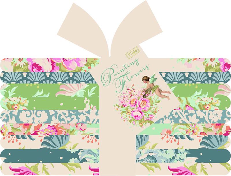 Набор ткани  Tilda , 50 х 55 см, 9 шт. 210480929 -  Подарочная упаковка