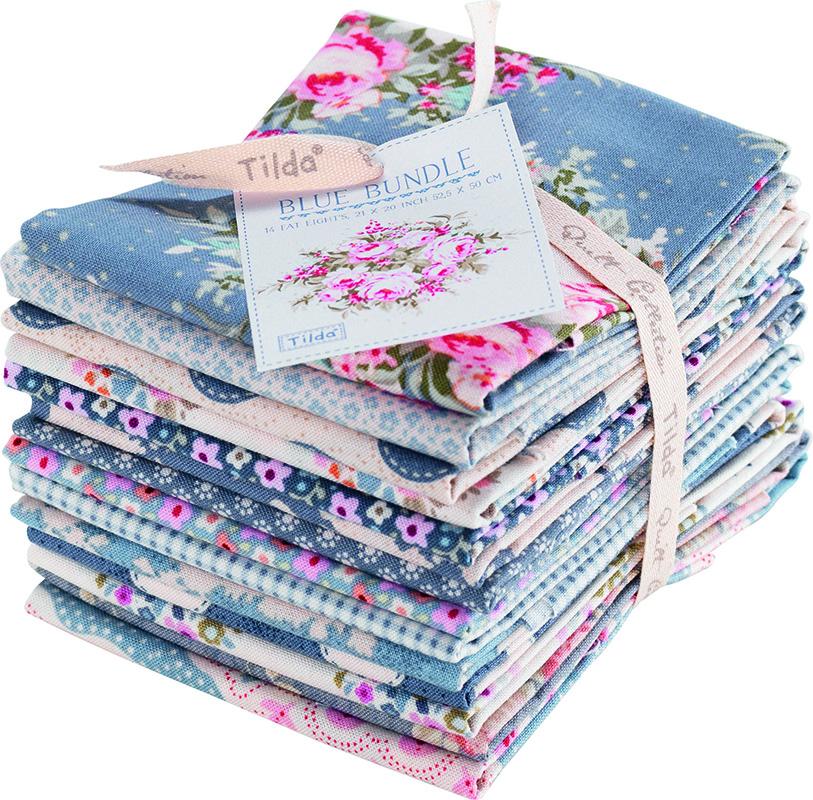 Набор ткани  Tilda , 50 х 55 см, 9 шт. 210480961 -  Подарочная упаковка