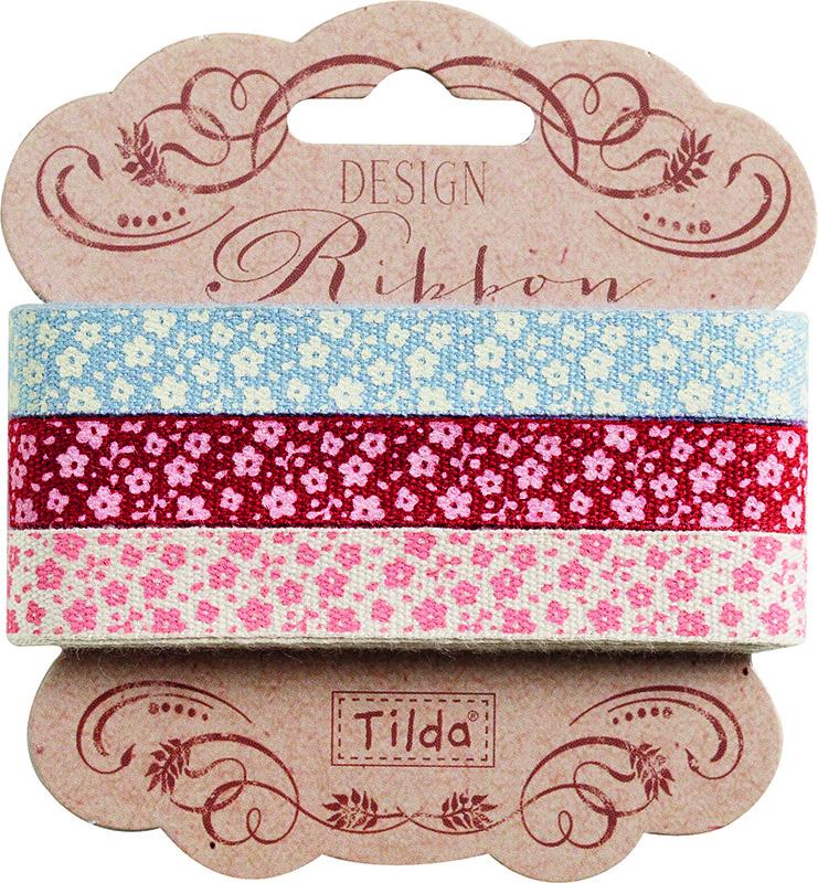 Набор лент Tilda, 200 х 1 см, 3 шт. 210480962210480962Ленточки Tilda идеально подойдут для декора ваших творческих работ.