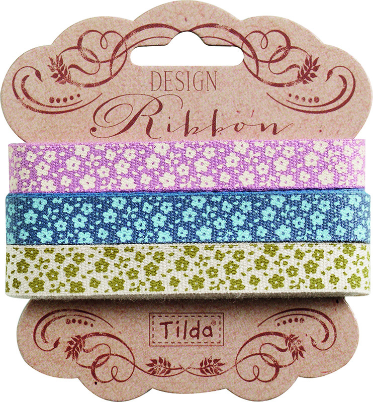 Набор лент  Tilda , 200 х 1 см, 3 шт. 210480963 - Подарочная упаковка
