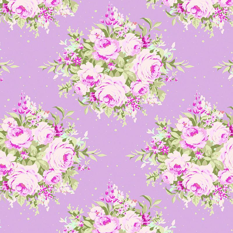 Ткань Tilda Floribunda, цвет: фиолетовый, розовый, 50 х 55 см. 210481067210481067Ткань Tilda Floribunda, выполненная из натурального хлопка, используется для творческих работ. Хлопковые ткани не выцветают, не линяют, не деформируются при стирке и в процессе носки готовых изделий, сшитых из этих тканей.Ткань Tilda Floribunda можно без опасений использовать в производстве одежды для самых маленьких детей, в производстве игрушек. Также ткань подойдет для декора и оформления творческих работ в различных техниках. Ширина: 55 см. Длина: 50 см.