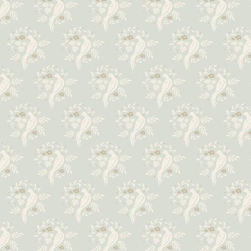 Ткань  Tilda , цвет: голубой, белый, 1 х 1,1 м. 210481654 - Подарочная упаковка