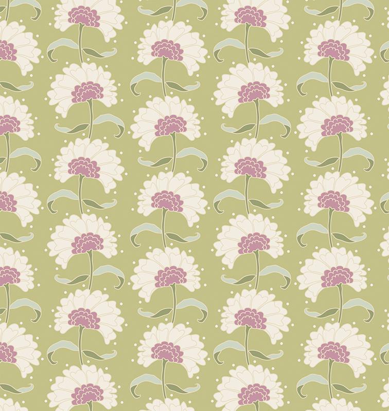 Ткань  Tilda , цвет: бежевый, розовый, фиолетовый, 1 х 1,1 м. 210481844 - Подарочная упаковка