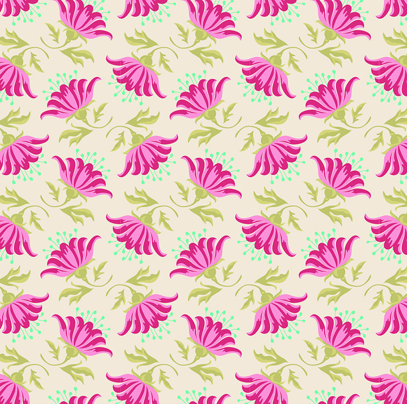 Ткань Tilda  Painted Lily , 1 х 1,1 м. 210481878 -  Подарочная упаковка
