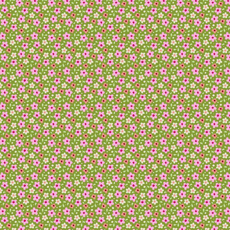 Ткань Tilda  Celia , 1 х 1,1 м. 210484042 -  Подарочная упаковка