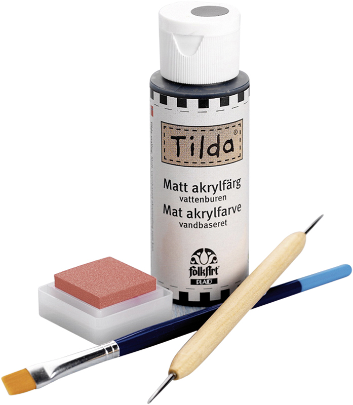 Набор для рисования лиц  Tilda . 210713400 - Игрушки своими руками
