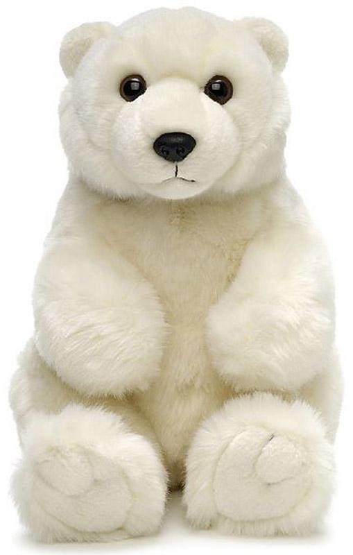 WWF Мягкая игрушка Медведь полярный 18 см wwf кролик коричневый wwf мягкая игрушка 18 см