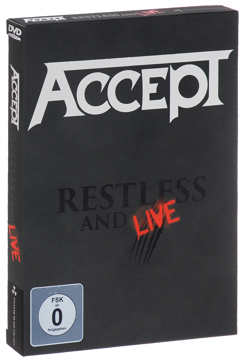 Accept: Restless & Live (DVD + 2CD) dark age live so far 2 dvd