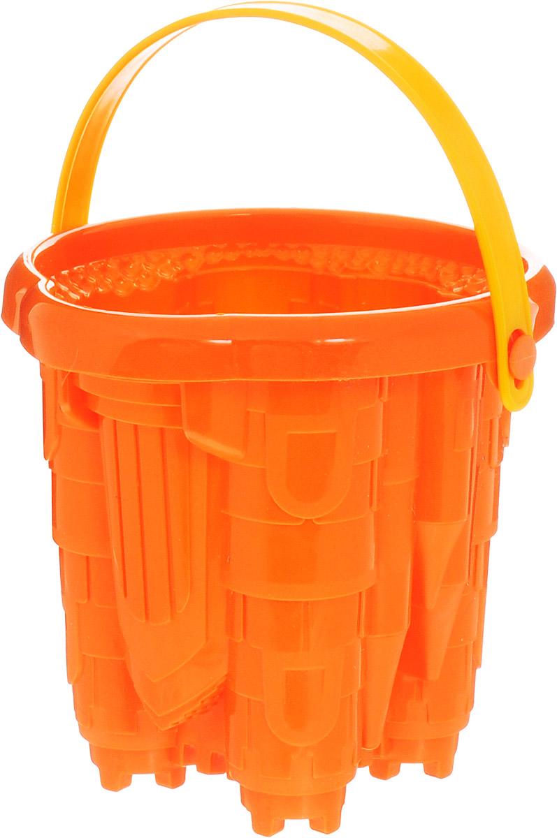 Нордпласт Ведро Замок цвет оранжевый нордпласт ведро форма замок нордпласт