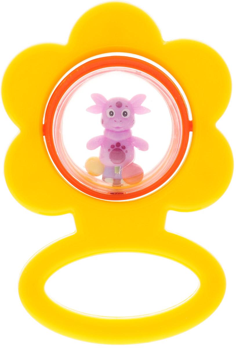 Умка Погремушка Цветочек цвет желтый электронные игрушки умка обучающий сканер