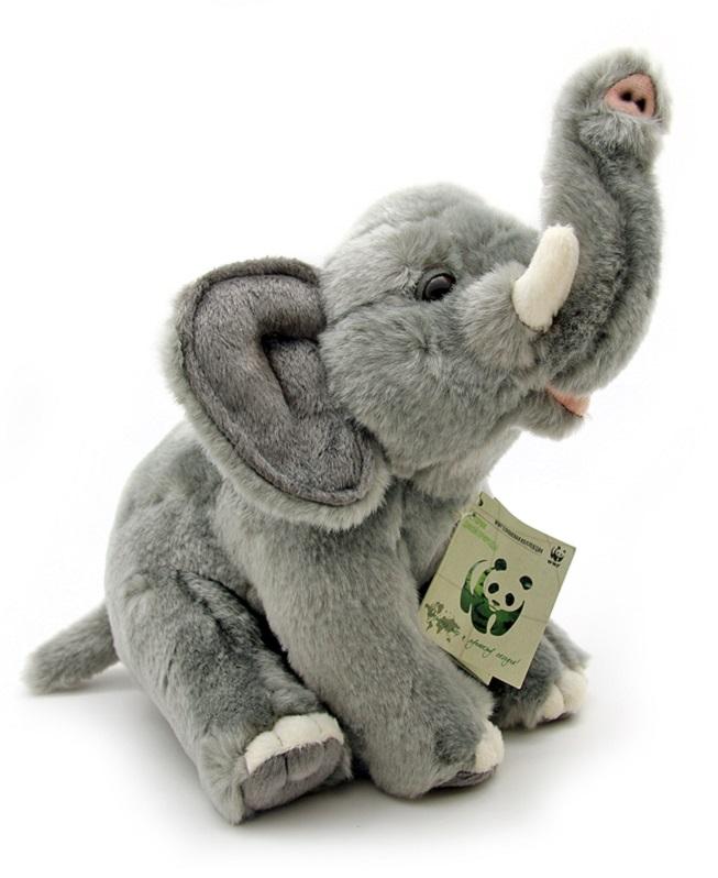 WWF Мягкая игрушка Слон 20 см wwf wwf wwf997