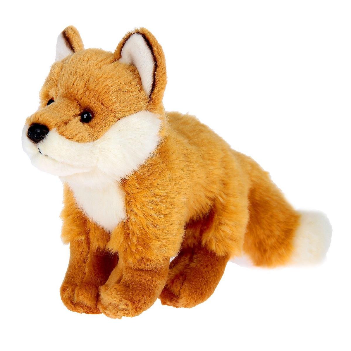 WWF Мягкая игрушка Лиса 42 см wwf кролик коричневый wwf мягкая игрушка 18 см
