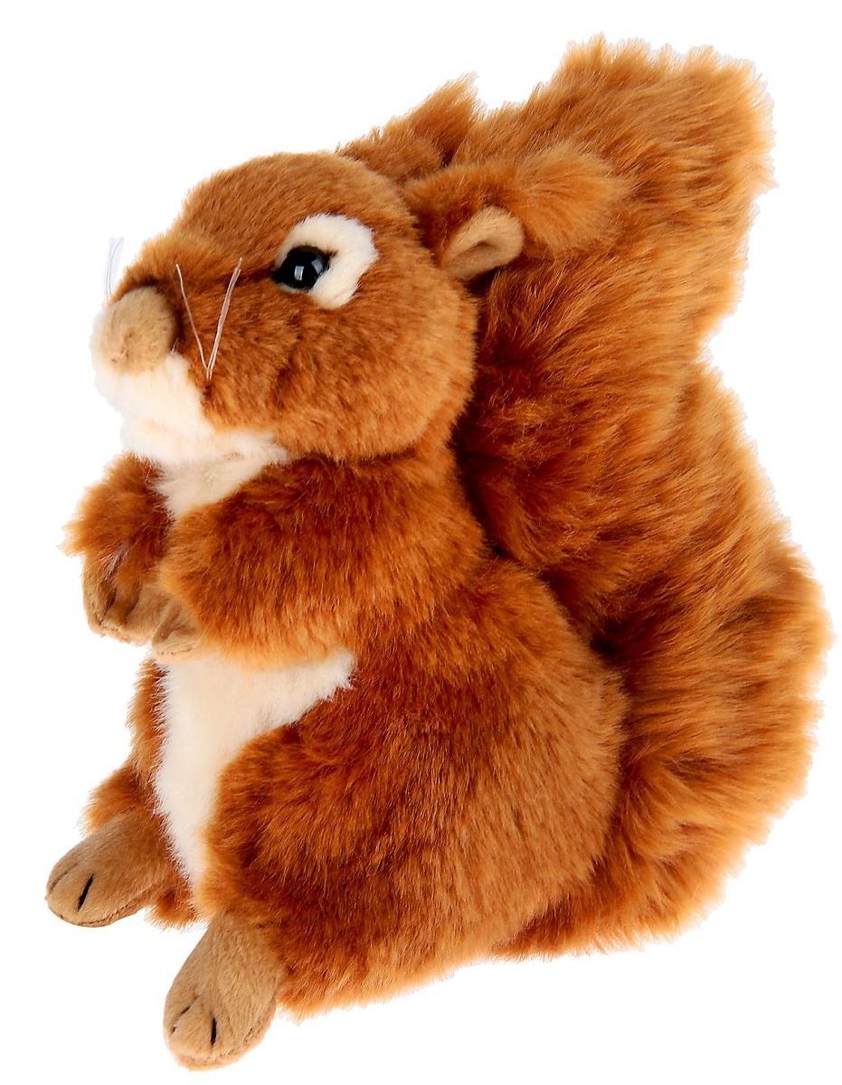 WWF Мягкая игрушка Белка 23 см малышарики мягкая игрушка собака бассет хаунд 23 см