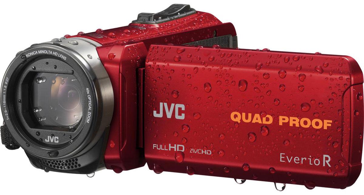 JVC GZ-R435REU, Red цифровая видеокамера - Цифровые видеокамеры