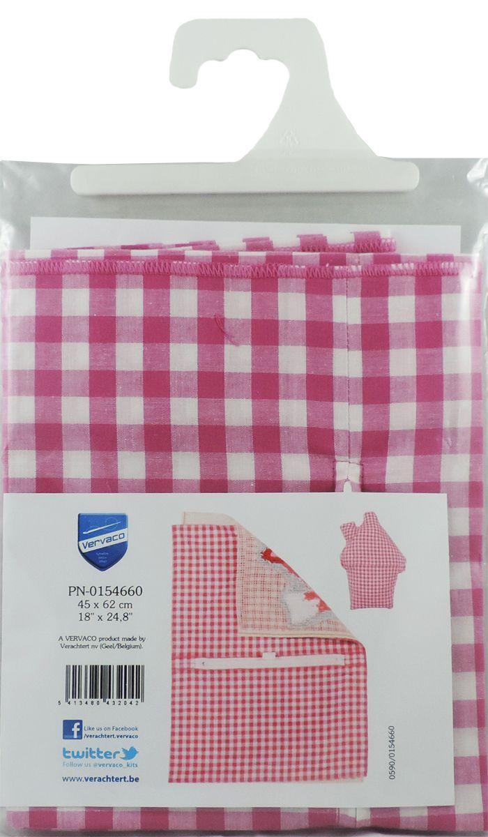 Обратная сторона подушки Vervaco, 45 х 62 см, цвет: розовыйPN-0154660Обратная сторона подушки с уже вшитой молнией. Идеальна для фигурных подушек. В центре вшит замок-молния, вам останется только пришить ее к декоративной части подушки.Состав: 100% хлопок.Упаковка: п/э пакет с европодвесом