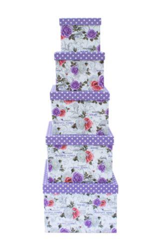 Набор подарочных коробок Hobby&You Розы, 8 штHY00703
