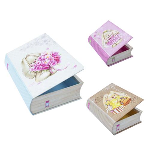 Набор подарочных коробок Hobby&You Книжки ЗайкаМи, 3 штHY00709