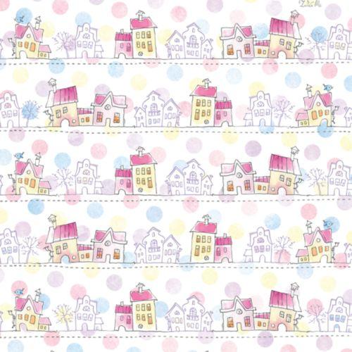 Бумага упаковочная Hobby&You ЗайкаМи. Городок, цвет: белый, розовый, 674 х 974 ммHY00806Упаковочная бумага Hobby&You ЗайкаМи. Городок оформлена полноцветным декоративным рисунком. Подарок, преподнесенный в оригинальной упаковке, всегда будет самым эффектным и запоминающимся.Окружите близких людей вниманием и заботой, вручив презент в нарядном, праздничном оформлении. Размер листа: 67,4 х 97,4 см.Плотность: 70 г/м2.