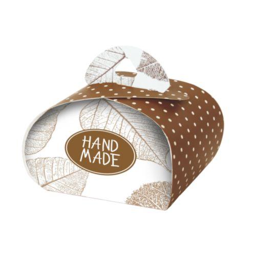 Подарочная коробочка Бонбоньерка Hobby&You Hand Made chocolate, 2 штHY00910