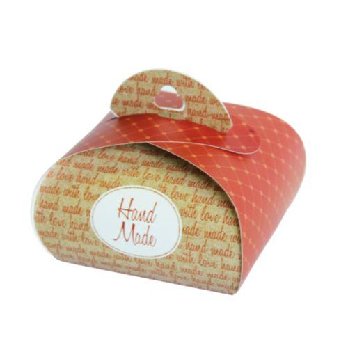 Подарочная коробочка Бонбоньерка Hobby&You Hand Made terracotta, 2 штHY00911