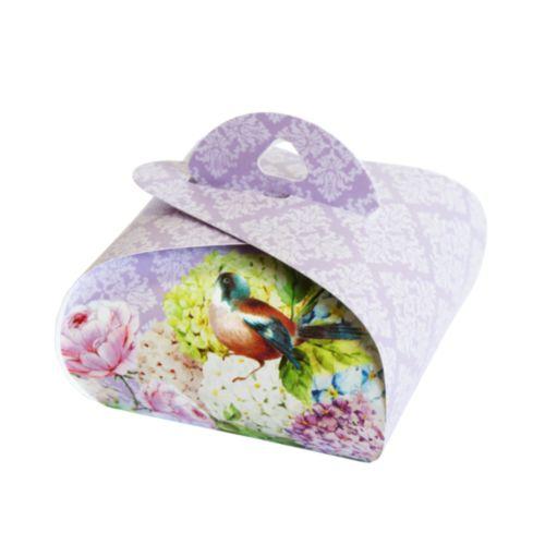 Подарочная коробочка Бонбоньерка Hobby&You Lilac, 2 штHY00914Подарочная коробочка предназначена для упаковки подарков, конфет, бижутерии, ювелирных изделий, сувениров, косметики и т.д. В наборе: 2 коробочки.