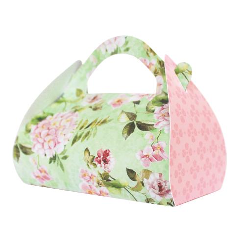 Коробка подарочная Hobby&You Hortensia, цвет: розовый, мятный, 2 штHY00922Коробка Hobby&You Hortensia, выполненная из картона, станет одним из самых оригинальных вариантов упаковки дляподарка. Любой, даже самый нестандартный подарок, упакованный в такую коробку, создаст момент легкой интриги, а плотный картон сохранит содержимое в первоначальном виде. Яркий дизайн самой коробки будет долго напоминать владельцу о трогательных моментах получения подарка. Размер коробки в разобранном виде - 24,5 х 24,5 см.Размер коробки в собранном виде - 10,5 х 5,5 х 5,5 см + ручка 2 см .