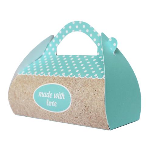 Подарочная коробочка Саквояж Hobby&You Made With Love Blue, 2 штHY00924
