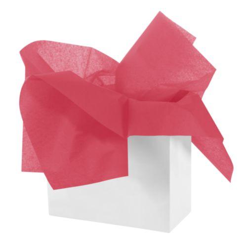Бумага тишью 50 х 70см, цвет: красный, 3 штHY06008