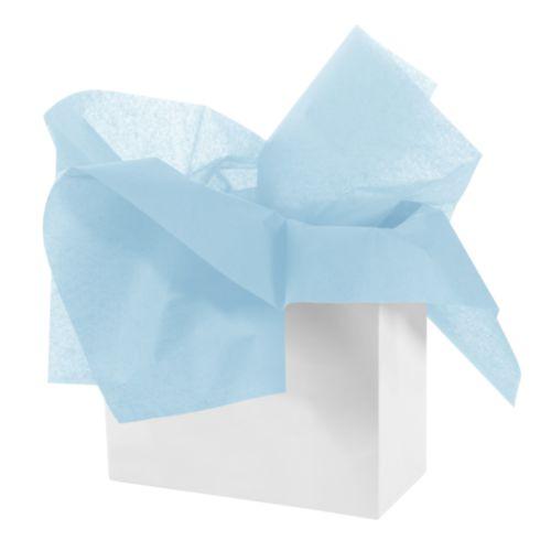 Бумага тишью 50 х 70см, цвет: голубой, 3 штHY06025