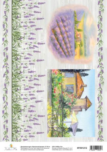 Карта декупажная Hobby&You Прованский дворик, 21 х 30 смHY501212Декупажная карта Hobby&You прекрасно подходит для декорирования предметов из керамики, пластика, дерева, стекла, фанеры, металла,текстиля и других материалов. Она выполнена из гладкой бумаги. Размер 21 х 30 см.